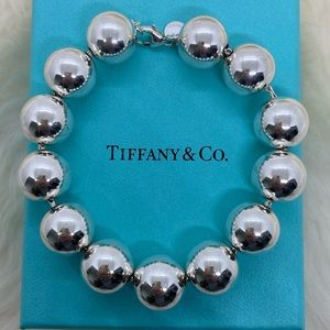Tiffany & Co. 14mm HardWear Ball Bracelet 8.25""